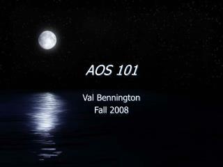 AOS 101