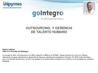 OUTSOURCING  Y GERENCIA DE TALENTO HUMANO