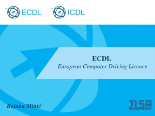 ECDL European Computer Driving Licence