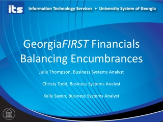 Encumbrance Accounting  What s It All About