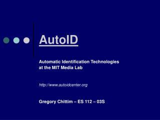 AutoID