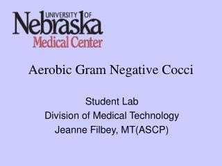 Aerobic Gram Negative Cocci
