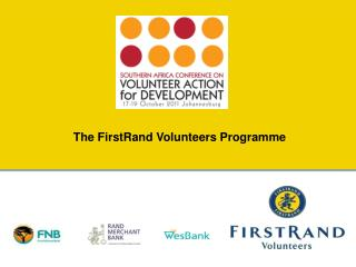The FirstRand Volunteers Programme