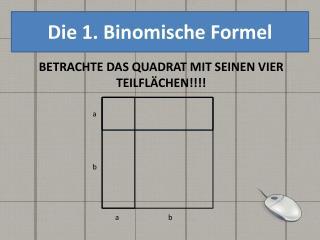 Die 1. Binomische Formel