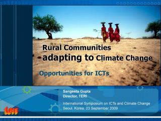 Rural Communities  adapting to  Climate Change