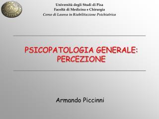 Università degli Studi di Pisa Facoltà di Medicina e Chirurgia