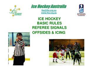 Ice Hockey Basic Rules Powerpoint