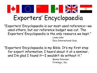 Exporters  Encyclopaedia