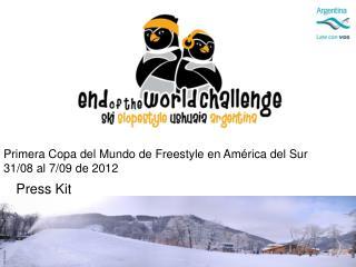 Primera Copa del Mundo de Freestyle en  América del Sur 31/08 al 7/09 de 2012