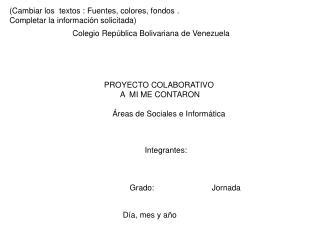 Colegio República Bolivariana de Venezuela