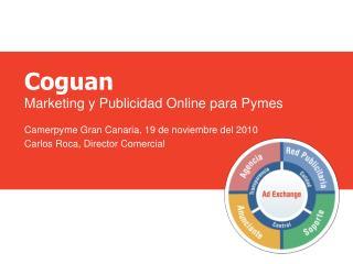 Coguan Marketing y Publicidad Online para Pymes Camerpyme  Gran Canaria, 19 de noviembre del 2010