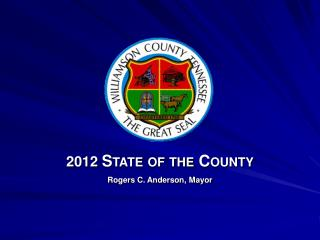 Rogers C. Anderson, Mayor