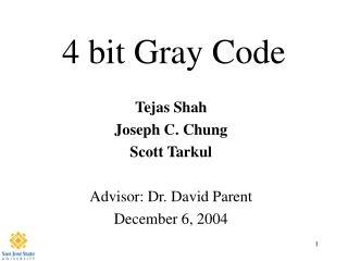 4 bit Gray Code