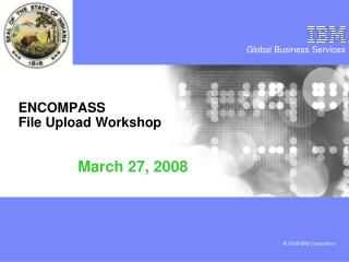 ENCOMPASS File Upload Workshop