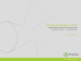Eventbarometern  2010