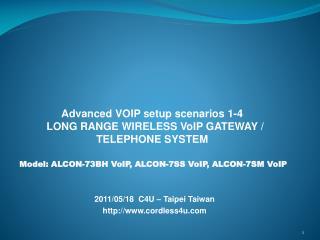 2011/05/18  C4U – Taipei Taiwan cordless4u