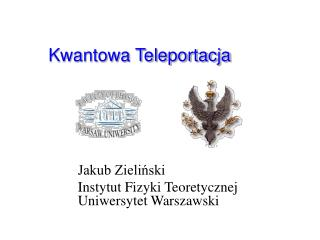 Kwantowa Teleportacja
