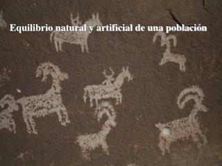 Equilibrio natural y artificial de una población