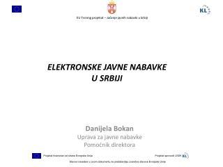 ELEKTRONSKE  JAVNE NABAVKE    U  SRBIJI