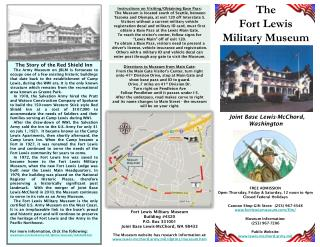 The Fort Lewis Military Museum