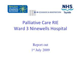 Palliative Care RIE   Ward 3 Ninewells Hospital