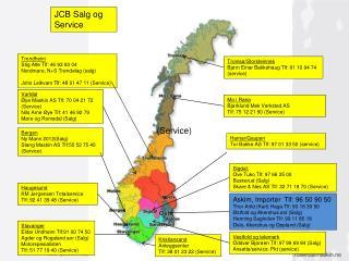 Hamar/Gaupen Tor Bakke  AS Tlf: 97 01 33 50 (service )