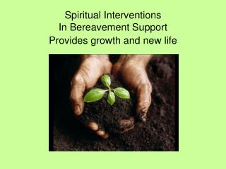 Spiritual Interventions In Bereavement Support