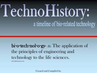 TechnoHistory: