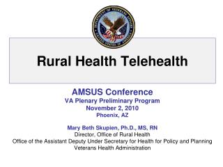 Rural Health Telehealth