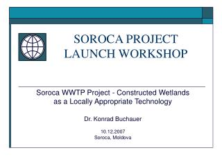 SOROCA PROJECT LAUNCH WORKSHOP