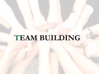 T EAM BUILDING
