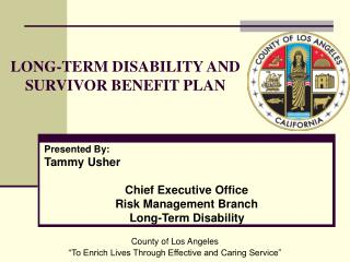 LONG-TERM DISABILITY AND SURVIVOR BENEFIT PLAN