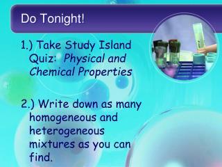 Do Tonight!