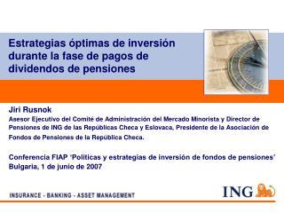 Estrategias óptimas de inversión durante la fase de pagos de dividendos de pensiones