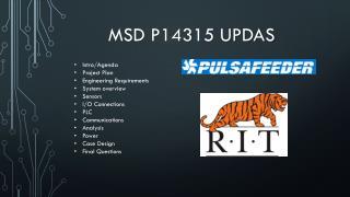 MSD P14315 UPDAS