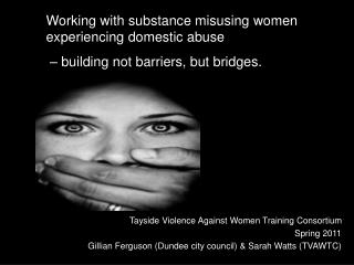 Tayside Violence Against Women Training Consortium Spring 2011