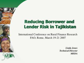 Reducing Borrower and Lender Risk in Tajikistan