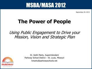 MSBA/MASA 2012