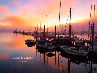 Juneau Boat Harbor Alaska