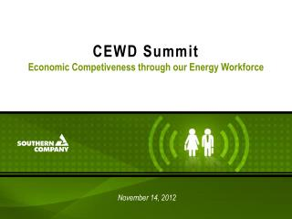 CEWD Summit Economic Competiveness through our Energy Workforce
