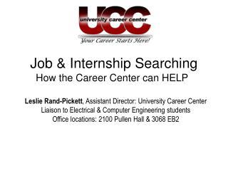 Job & Internship Searching