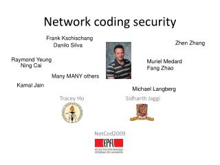 Network coding security