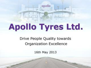 Apollo  Tyres Vision Overview Products & Partners Chennai Plant Quality  Strategy People  Quality