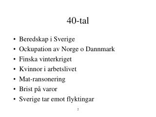 40-tal