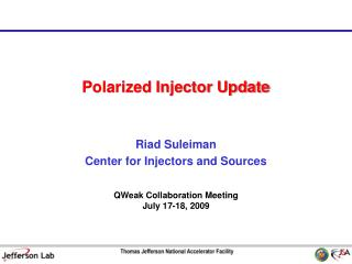 Polarized Injector Update