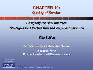 CHAPTER 10: Quality of Service