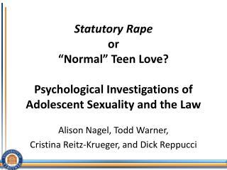 Alison Nagel, Todd Warner,  Cristina Reitz-Krueger, and Dick  Reppucci