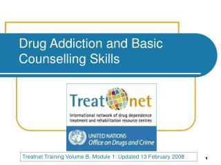 Drug Addiction and Basic Counselling Skills