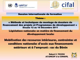 Session internationale de formation