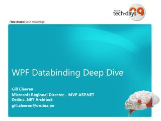 WPF Databinding Deep Dive